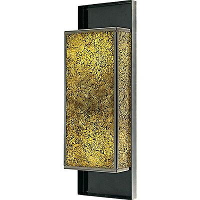BLACK CHROME WALL SCONCE LIGHT FIXTURE Black Chrome Wall Light