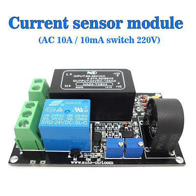 Ac Current Sensor Module Exchanges Module 10a Switch Quantity 220v