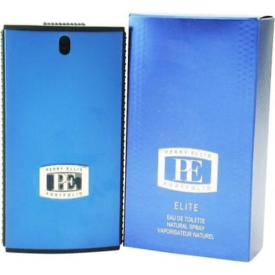 Pe Portfolio Elite By Perry Ellis Cologne 3 4 Oz Spray New In Box