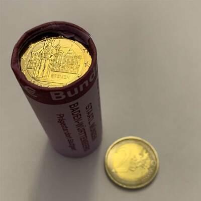Münzen der Bundesländer 2010 2 Euro Bremen Original 25er Rolle