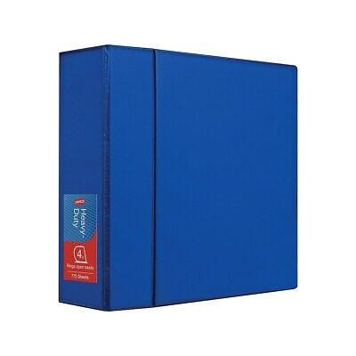 4 Staples Heavy-duty Binder With D-rings Blue 976046