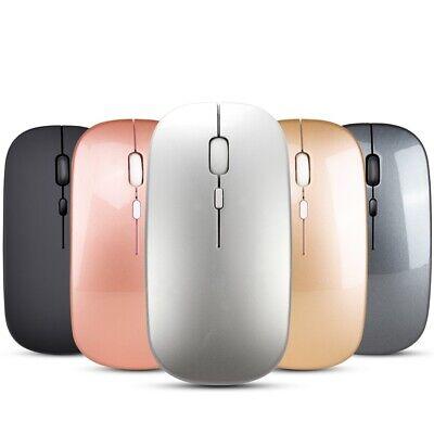 Dual Mode Wireless Mouse BT5.0 2.4G Optical Mouse Ergonomic Mice 1600DPI C6K2 Dual Optical Mouse