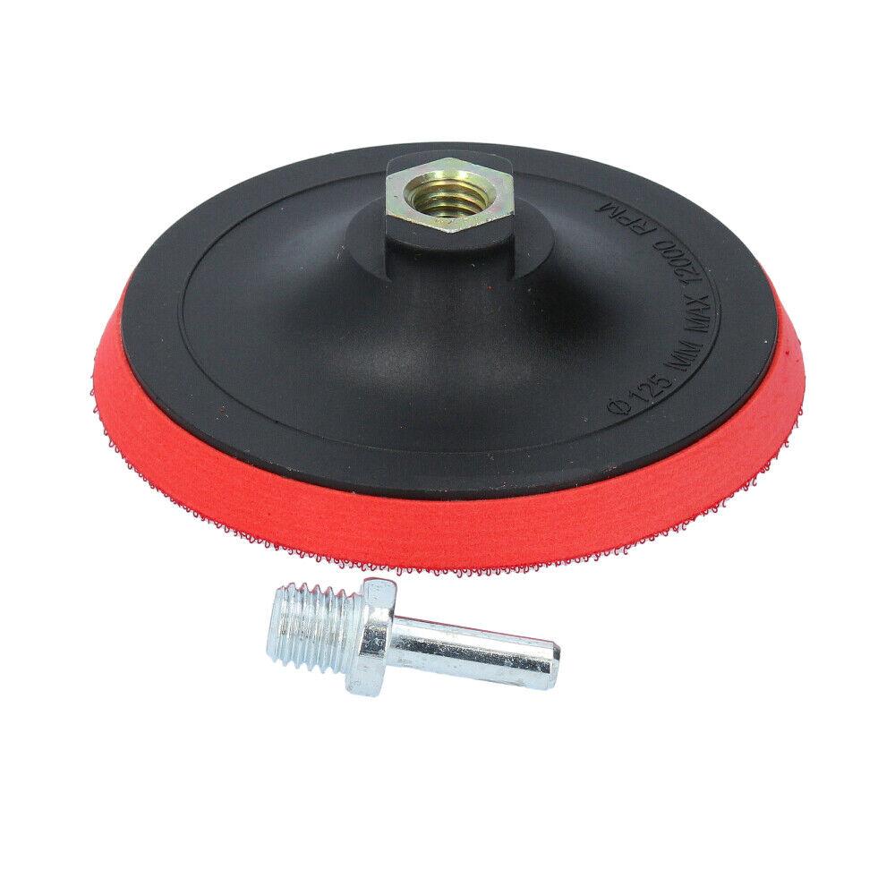 Schleifteller mit Klettverschluss Euro-Scheibe für Winkelschleifer 125 mm
