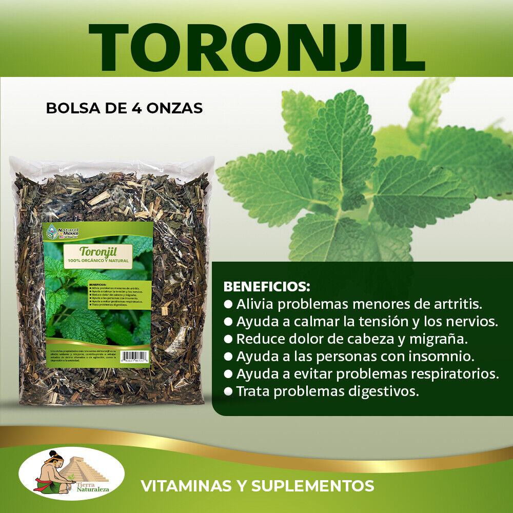 Toronjil - 4 Oz - Ayuda a calmar la tensión y nervios