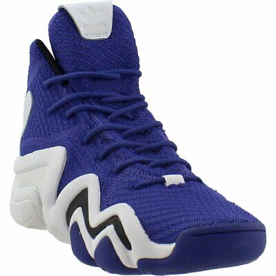 adidas Crazy 8 ADV Primeknit Basketball Shoes - Purple - Mens