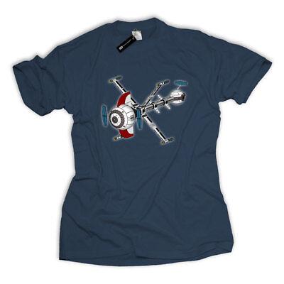 Future Comet Captain T-Shirt Nerd Science Fiction Anime Manga Cyberpunk TV