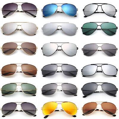 Fashion Women Mens Aviator Polarized Sunglasses Driving Mirrored Eyewear Case (Mens Sunglasses Case)