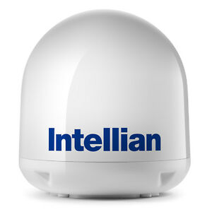 INTELLIAN I4/I4P EMPTY DOME AND BASE PLATE ASSEMBLY