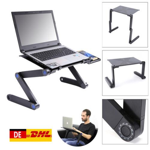 Faltbar Tragbar Laptoptisch Betttisch Notebooktisch Schreibtisch Tisch CO 03