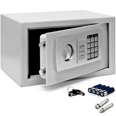 Elektronischer Möbeltresor 31x20x20cm Safe Tresor Wandtresor Geldschrank Schrank