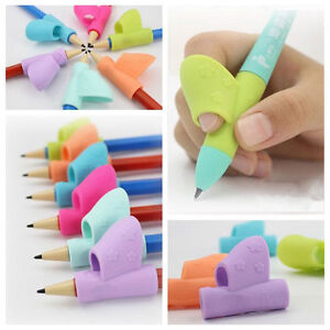 3Pcs/Set Children Pencil Holder Correction Writing Hold Pen Grip Posture Tool UK