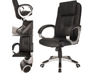 Black Office Chair/Gaming Chair/Computer Desk Chair