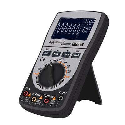 Portable Digital Storage Scopemeter Oscilloscope Multimeter 200ksps 200khz W9g2