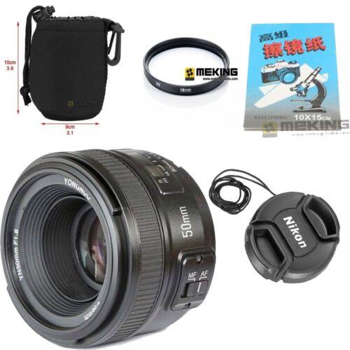 YONGNUO Fixed Auto Focus Lens YN50MM F/1.8 For Nikon D3100,D3200,D70 ...