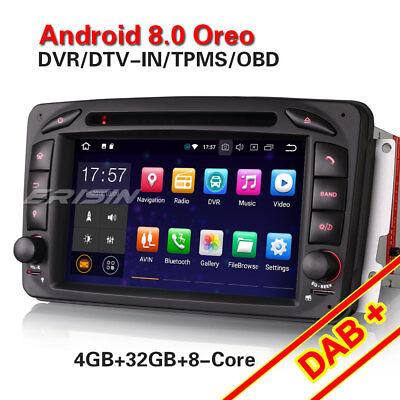 Android 8.0 Autoradio DAB NAVI Mercedes G/C-Klasse W203 CLK W209 Viano Vito W639 online kaufen