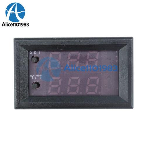 W1209WK DC 12V waterproof Digital thermostat Temperature Smart Sensor Controller