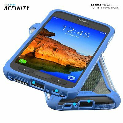 For Galaxy S7 Active Case Blue POETIC【Affinity】Premium Thin Shockproof Case