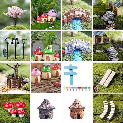 Indoor Outdoor Miniature Fairy Garden Accessories Ideas Kits Supplies Ornaments