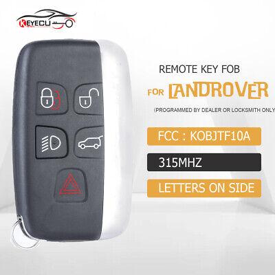 Remote Car Key Fob for Land Rover LR2 LR4 2012-2018,Range Rover Evoque /Sport