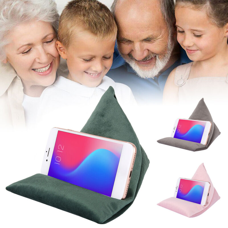 New Soft Multi-Angle Pillow Pad Stand Tablet Holder For IPad