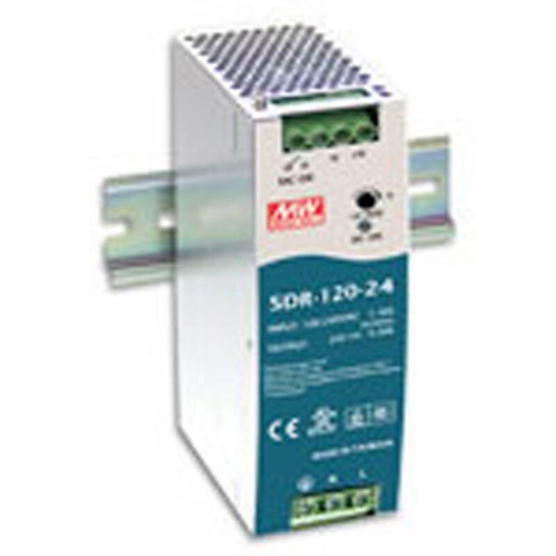 Mean Well SDR-120-12 AC to DC DIN-Rail Power Supply 12 Volt 10 Amp 120 Watt