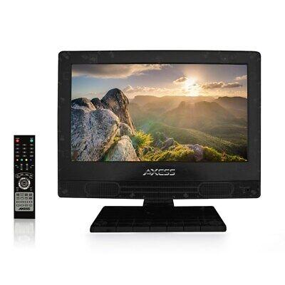 Axess TV1703-13 13.3 High-Definition 720 LED TV AC/DC HDMI a