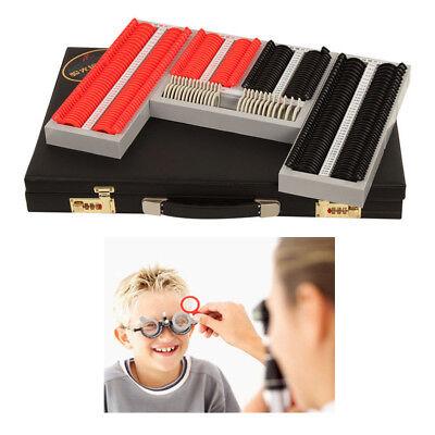 266pcs Optical Optic Trial Lens Frame Eye Plastic Rims Optometry Optician Kit Us