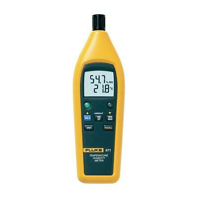 Fluke 971 Digital Temperature Humidity Meter With Backlit Dual Display