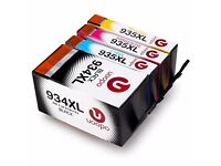 Compatible Replacement for HP 934XL 935XL Ink Cartridges with New Updated Chips