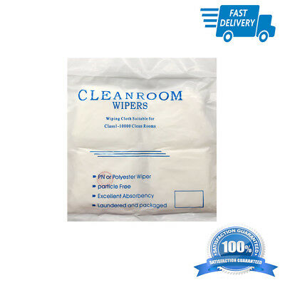 180pcs Cleaning room cloth no dirt wipe for iPhone Samsung lcd glass anti static