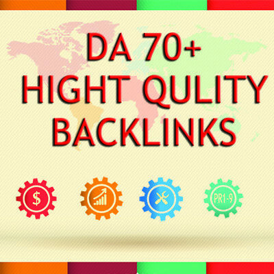 Pr9 - Da Domain Authority 70 Backlinks
