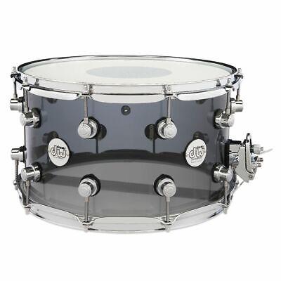 DW Design 14x8 Snare Drum Smoke Acrylic