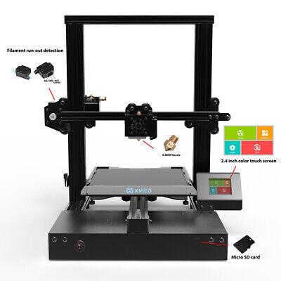 "Xvico X3 Pro FDM 3D Printer DIY Kit 2.4"" Colorful Touch Screen PLA 220*220*250mm"