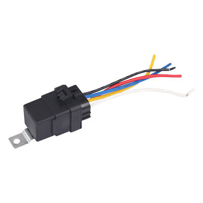 1x Auto Car Automotive Relay Switch Harness 30a40a 12vdc 12awg Wires Waterproof