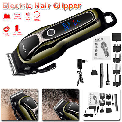 Professional Electric Men Male Hair Clipper Shaver Trimmer Cutter Cordless Razor