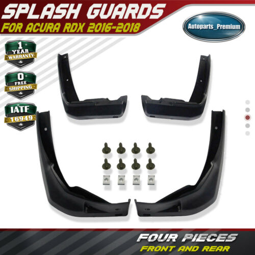 4x Splash Guards Mud Flaps Mudflaps Front & Rear For 2016