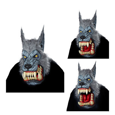 Motion Mask (Adult Lunar Psycho Ani-Motion Werewolf Halloween)