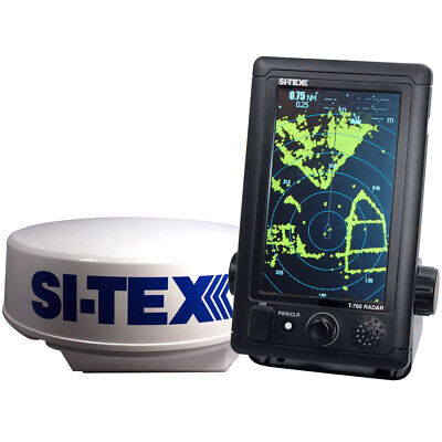 Si-Tex T-760 Compact Color Radar 4Kw 18