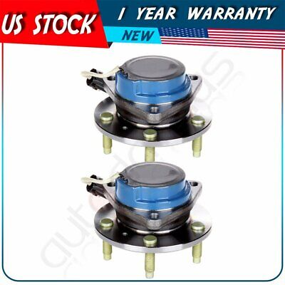 2 Pcs Front Wheel Hub Bearing Assembly For Cadillac CTS STS Pontiac RWD 5 Lug