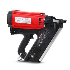 Nail Gun Gas Portable 50-90mm Nails Depth Adjustable Professional Kings Beach Caloundra Area Preview