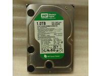 1TB 3.5 SATA WD GREEN HDD Hard Drive (Ideal for CCTV)