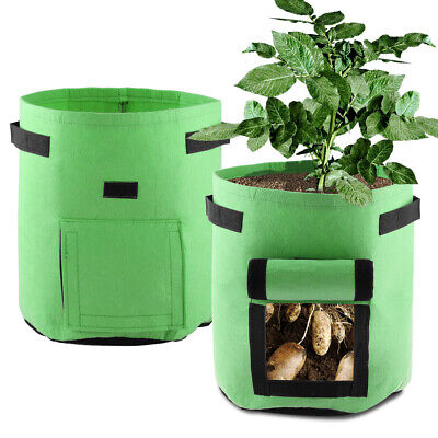 1pcs Potato Grow Bags, Planter Bags with Access Flap for Planting Vegetables