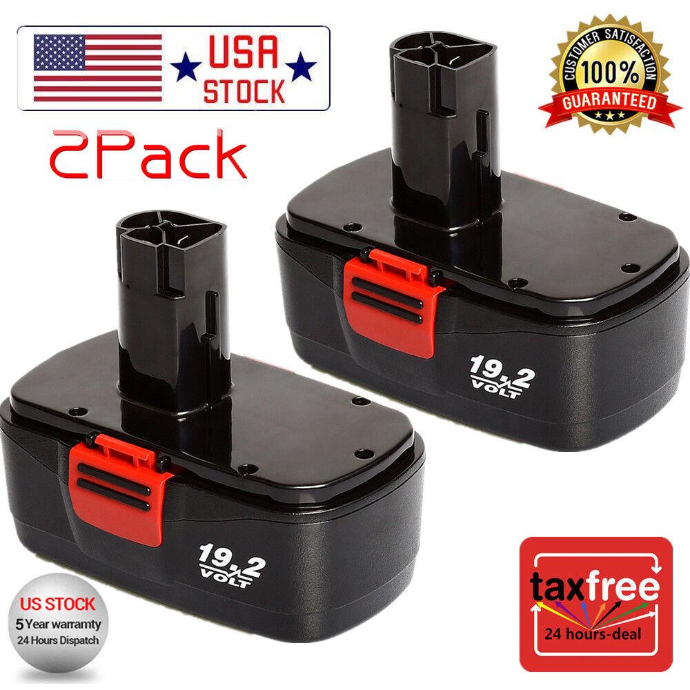 2 pack of Craftsman DieHard C3 19.2Volt NiCd Battery Replace
