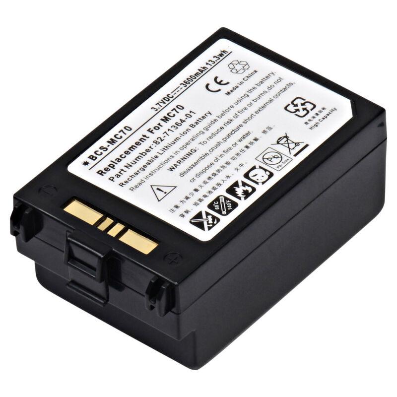 BCS-MC70 3.7V 3600mAh Barcode Scanner Battery pack for  Symbol - MC70