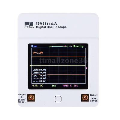 Dso 112a Tft Touch Screen Portable Mini Usb Digital Oscilloscope 2mhz 5msps Tool