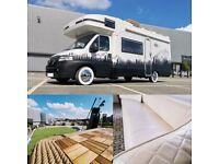 Gorgeous Campervan Motorhome for Sale with Luxury Roof Garden, 12mo MOT, 74k - Dream Glamper Van