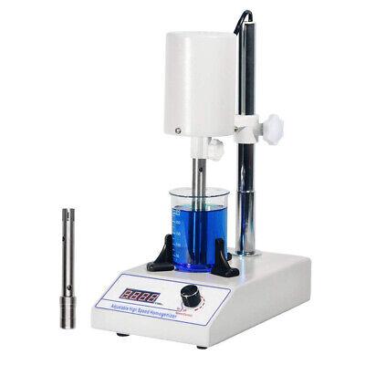 High Speed Homogenizer Adjustable Lab Disperser Mixer 6000 To 22000rpm 110v 220v