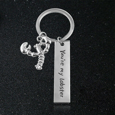 US! TV Shows Best Friends You Are My Lobster Funny Keychain Halloween Fans Gifts - Lobster Halloween