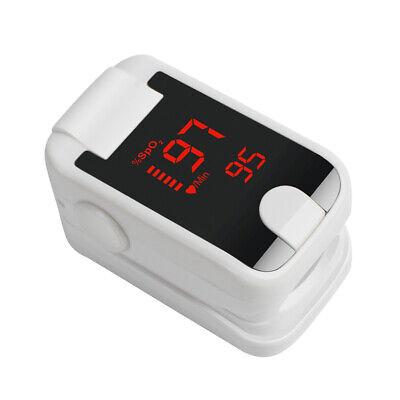 Finger Tip Pulse Oximeter Blood Oxygen Meter Spo2 O2 Pulse Rate Monitor Detector