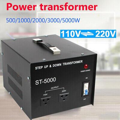 5000w Power Converter Voltage Transformer Step Up-down 110v To 220v